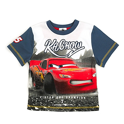 T-shirt Flash McQueen Disney Pixar Cars 3 pour enfants - 5-6 ans