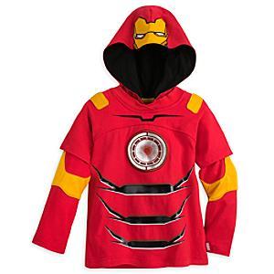 Läs mer om Iron Man, långärmad topp för barn