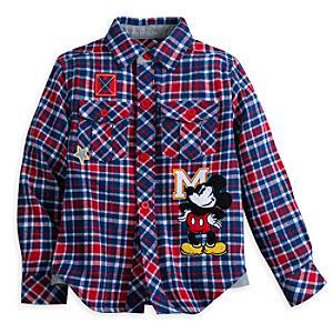 Läs mer om Musse Pigg-skjorta för barn