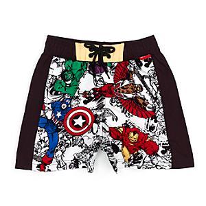 Läs mer om Marvel Avengers Assemble badshorts för barn