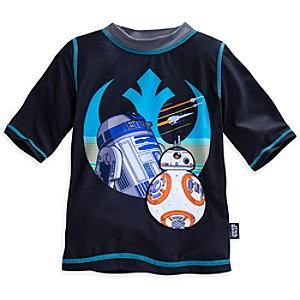 Läs mer om R2-D2 och BB-8 badtröja för barn, Star Wars: The Force Awakens