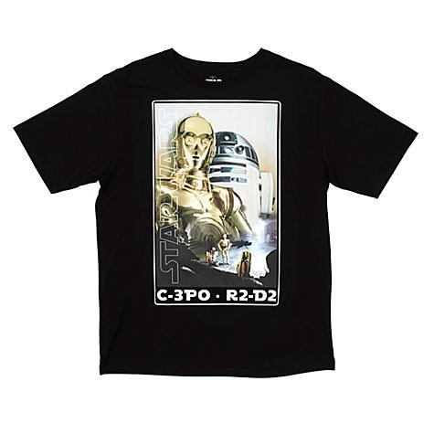 T-shirt pour hommes droïdes Star Wars - XL