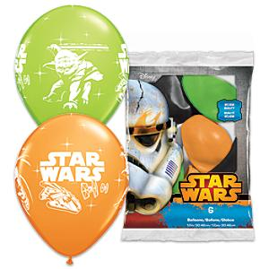 Star Wars Balloons, Pack of 6 - Balloons Gifts