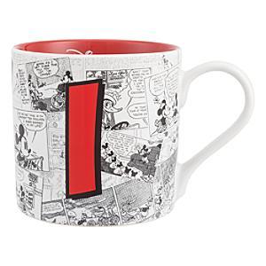 Disneyland Paris Mickey Mouse Vintage Artwork Mug - Letter I
