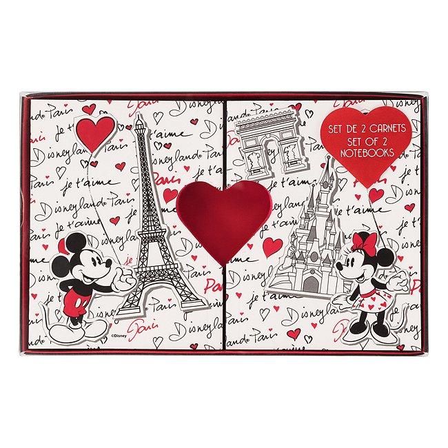 Lot de 2 carnets Paris Mon Amour Disneyland Paris