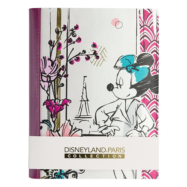 Carnet Minnie parisienne disneyland paris