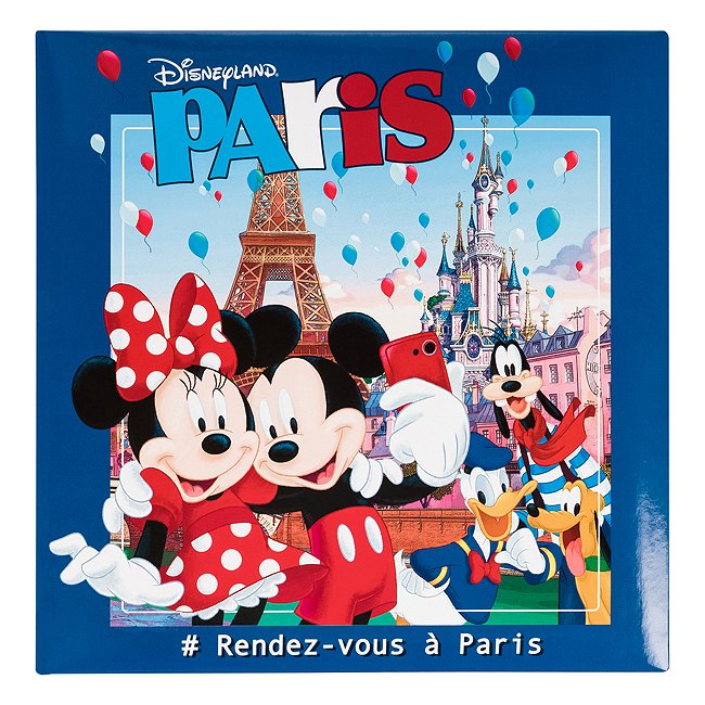 Album Photo souvenir paris disneyland paris