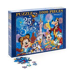 Disneyland Paris 25th Anniversary 1000 Piece Puzzle