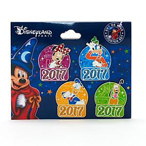 Disneyland Paris 2017 Pins, Booster Set of 4