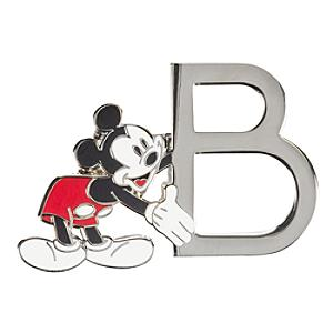 "Disneyland Paris Pin's lettre""B""Mickey Mouse"
