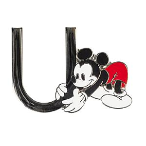 "Disneyland Paris Pin's lettre""U""Mickey Mouse"