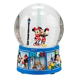 Boule à neige souvenir Mickey et Minnie Mouse Disneyland Paris