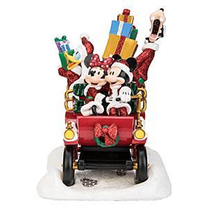 Disneyland Paris Figurine voyage en voiture pour les fêtes