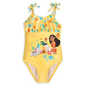 Moana Swimsuit For Kids -  9-10 Years - Moana Gifts