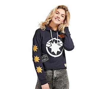 Disney Store - Captain Marvel - Kapuzensweatshirt für Erwachsene