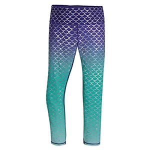 Oh My Disney The Little Mermaid Ladies' Leggings -  X Large - Little Mermaid Gifts