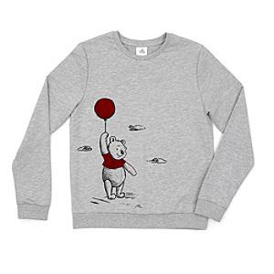 Disney Store Winnie the Pooh Ladies'Sweatshirt, Christopher Robin
