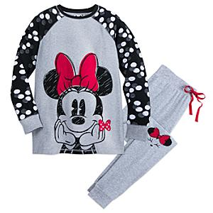 Minnie Rocks The Dots Ladies' Pyjamas -  Small - Pyjamas Gifts
