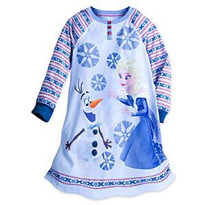 Camicia da notte bimbi Elsa e Olaf