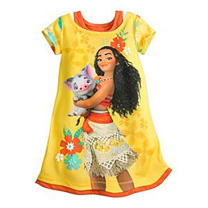 Moana Nightdress For Kids -  3 Years - Moana Gifts