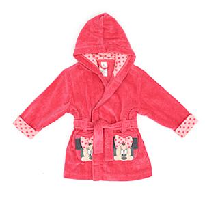Minnie Mouse Dressing Gown For Kids -  5-6 Years - Dressing Gown Gifts