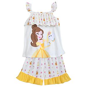 Beauty and the Beast Pyjamas For Kids -  9-10 Years - Beauty And The Beast Gifts