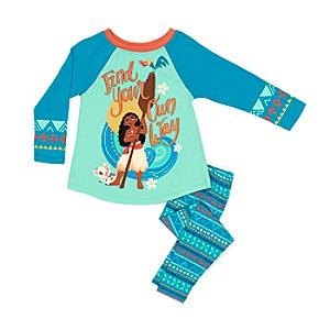 Moana Pyjamas For Kids -  7-8 Years - Moana Gifts
