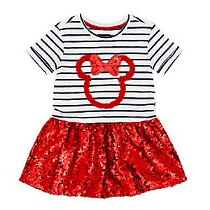 Minnie Mouse Dress For Kids -  11-12 Years - Disney Store Gifts