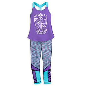 Disney Princess Yoga Top and Leggings Set For Kids -  11-12 Years - Yoga Gifts