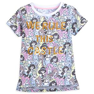 Disney Princess T-Shirt For Kids -  7-8 Years - Tshirt Gifts