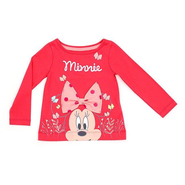T-shirt à manches longues Minnie Mouse pour enfants