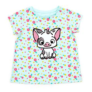 Pua T-Shirt For Kids -  9-10 Years - Disney Store Gifts