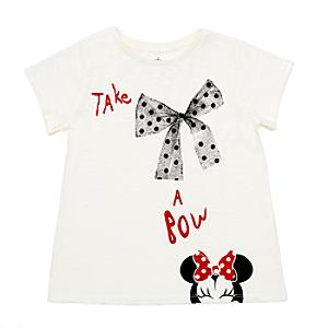 Minnie Mouse 'Take a Bow' T-Shirt For Kids -  9-10 Years - Disney Store Gifts