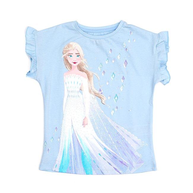 Camiseta infantil Elsa, la Reina de las Nieves, Frozen 2, Disney Store