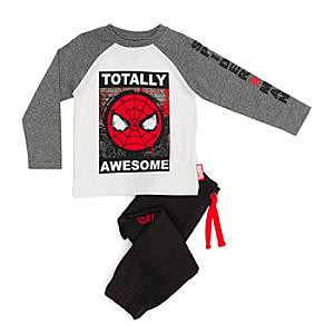 Spider-Man T-Shirt and Tracksuit Bottoms Set For Kids -  7-8 years - Marvel Gifts