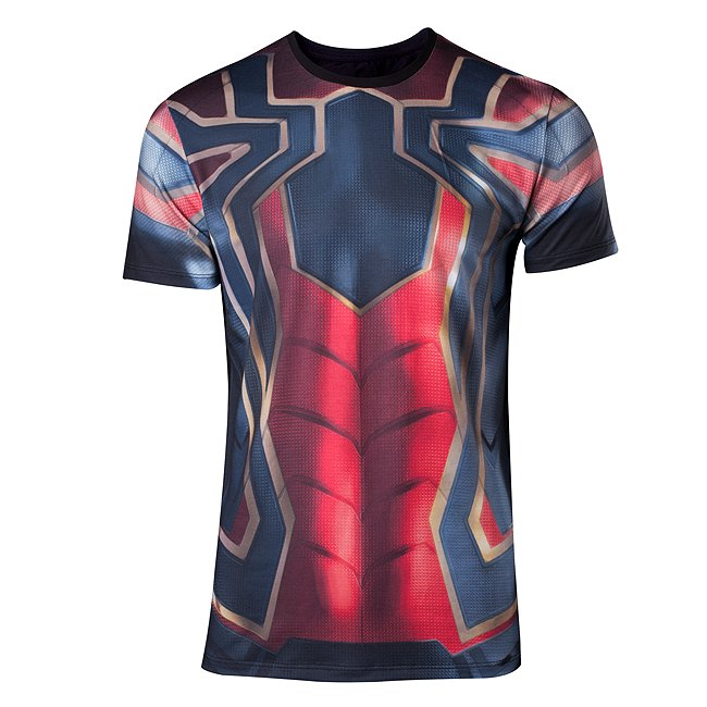 T-shirt Iron Spider homme