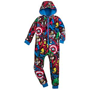 Avengers Onesie For Kids -  7-8 years - Onesie Gifts