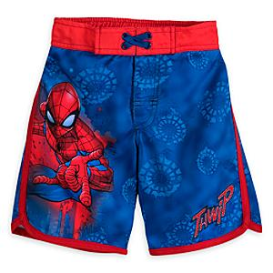 Spider-Man Swimming Shorts For Kids -  9-10 Years - Swimming Gifts
