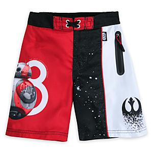 Star Wars: The Last Jedi Swimming Shorts For Kids -  11-12 Years - Swimming Gifts