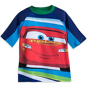 Disney Pixar Cars Rash Guard For Kids -  5-6 Years - Disney Cars Gifts