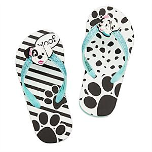 101 Dalmatians Flip Flops For Kids