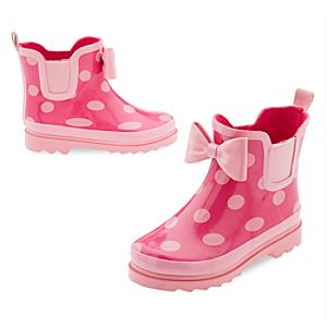 Minnie Mouse Rain Boots For Kids -  Kids Shoe Size 8 - Boots Gifts