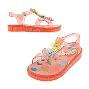 The Little Mermaid Jelly Shoes For Kids -  Kids Shoe Size 10 - Little Mermaid Gifts