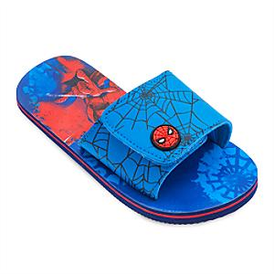 Spider-Man Flip Flops For Kids -  Kids Shoe Size 9-10 - Spiderman Gifts