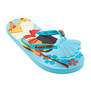 Moana Flip Flops For Kids -  Kids Shoe Size 12 - Moana Gifts