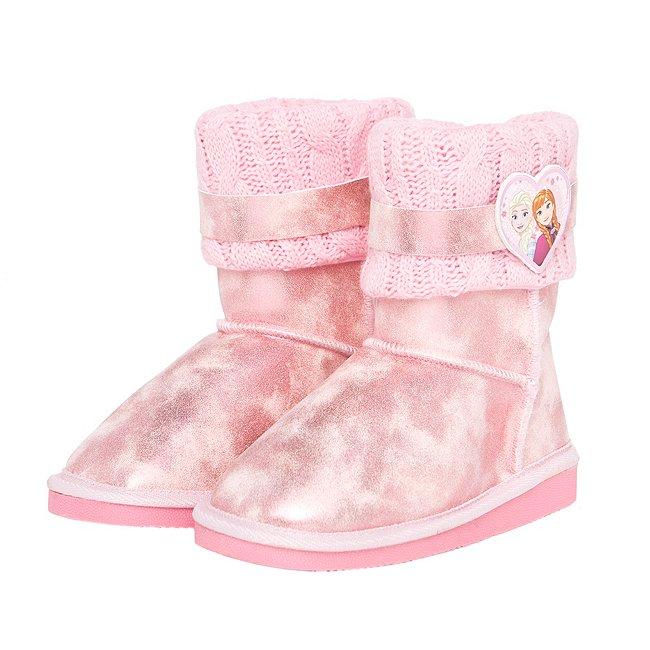 Arnetta Bottines La Reine des Neiges roses pour enfants