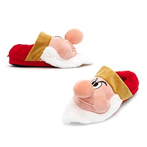 Grumpy Slippers For Adults -  Adult Shoe Size 8-9 - Grumpy Gifts
