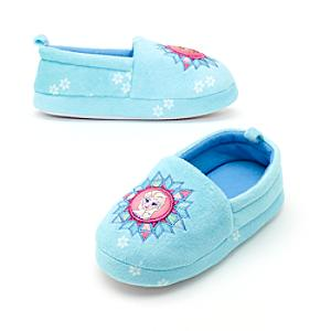 Frozen Slippers For Kids -  Kids Shoe Size 6-7 - Slippers Gifts