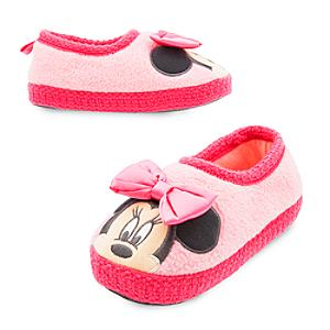 Minnie Mouse Slippers For Kids -  Kids Shoe Size 6-7 - Slippers Gifts