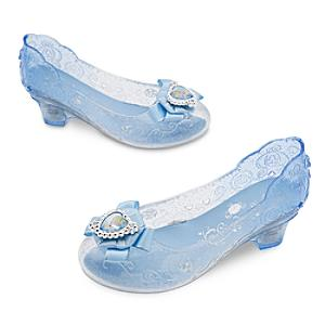 Zapatos luminosos disfraz Cenicienta para niña